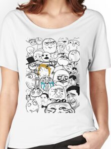 Meme compilation Women's Relaxed Fit T-Shirt