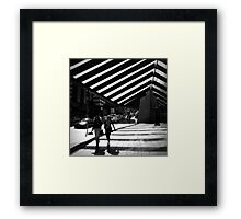 The Gossipers Framed Print