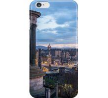 Edinburgh from Calton Hill iPhone Case/Skin