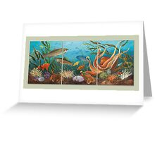 Puget Sound, Beneath the Surface Greeting Card