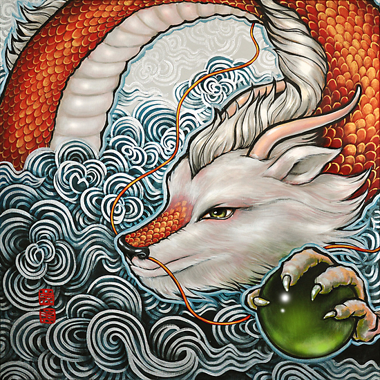 year of the dragon (McDonald's year of the dragon 2012 calendar) by mimi yoon