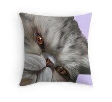 Merlin My Exotic shorthair Throw Pillow