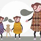 Bear talk by EmmaIllustrator