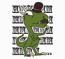 Meandering Raptor One Piece - Short Sleeve