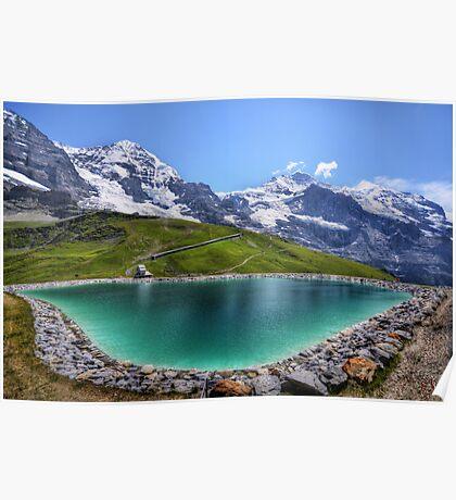 Alpen Emerald Poster
