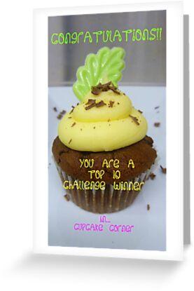 CONGRATULATIONS! - Top 10 Winner - Cupcake Corner by AndreaEL