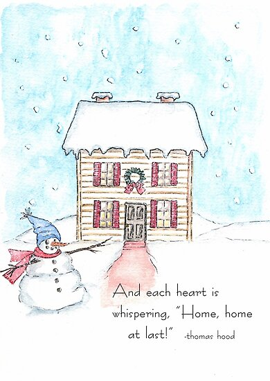 Home for Christmas by MarieRayner