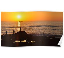 Wondering Silhouettes & Sunsets Poster
