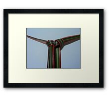 double tie Framed Print