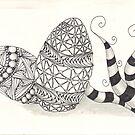 Zentangle eggs by 11111984