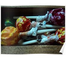 boxed lollipops Poster
