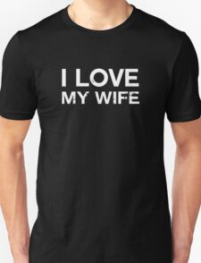 I Love My Wife Vintage T-Shirt