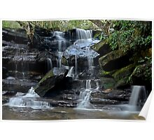 Falling Water, Somersby Falls Poster