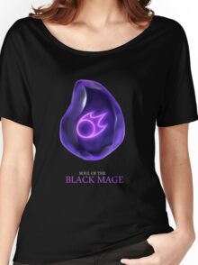 Soul of the Black Mage -black Women's Relaxed Fit T-Shirt