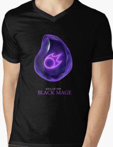 Soul of the Black Mage -black Mens V-Neck T-Shirt