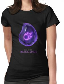 Soul of the Black Mage -black Womens Fitted T-Shirt