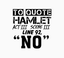 Hamlet - William Shakespeare's play Unisex T-Shirt