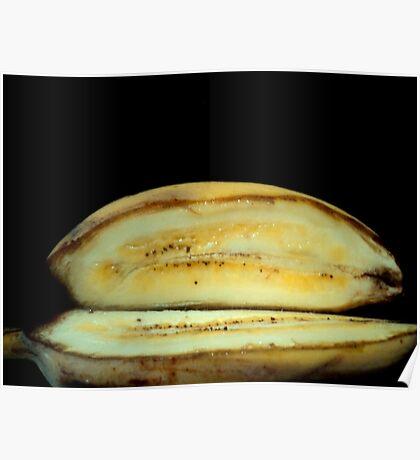 banana smile Poster