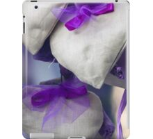 handmade heart and lavender iPad Case/Skin