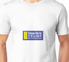 Vietnam Vets for Trump Unisex T-Shirt