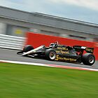 Nigel Mansells - Lotus 92 - 1983 by Tom Clancy