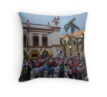 Vera Cruz Zocalo Throw Pillow