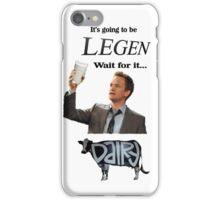 Barney Legendary Dairy iPhone Case/Skin