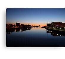 Belfast docks Canvas Print