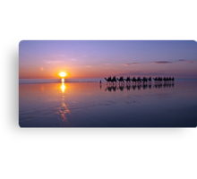 Sunset on Cable Beach Canvas Print