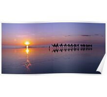 Sunset on Cable Beach Poster