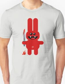 RABBIT 2  (Cute pet with a sharp knife!) T-Shirt