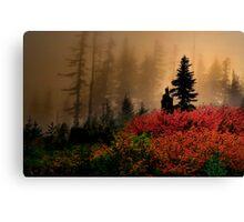 Bohema Saddle Fall Colors Canvas Print