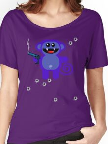 MUNKEY 5 (Armed and highly dangerous!) Women's Relaxed Fit T-Shirt