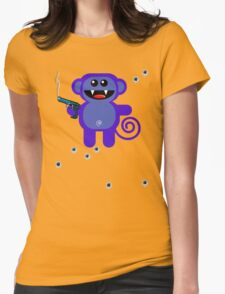 MUNKEY 5 (Armed and highly dangerous!) T-Shirt