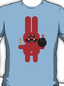 RABBIT 4  (Cute pet has a bomb and its alight!) T-Shirt