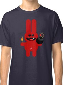 RABBIT 4  (Cute pet has a bomb and its alight!) Classic T-Shirt