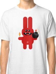 RABBIT 4  (Cute pet has a bomb and its alight!) Classic T-Shirt