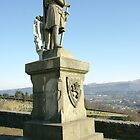 King Robert the Bruce Statue in Stirling Scotland by John Butterfield