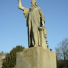 John Knox statue Stirling Scotland by John Butterfield