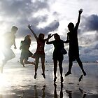 fun at the beach by lensbaby