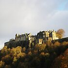Stirling castle Scotland in late November by John Butterfield
