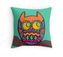 Cozy Owl Throw Pillow