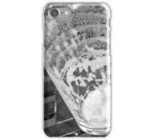 empty beer glass iPhone Case/Skin