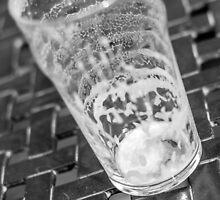 empty beer glass by carlrittenhouse