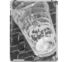 empty beer glass iPad Case/Skin