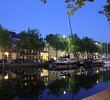 Oudehaven, Vlaardingen by Stephanie Owen