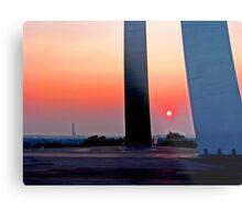 Air Force Memorial Sunrise Metal Print