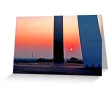 Air Force Memorial Sunrise Greeting Card