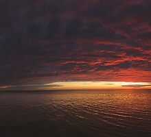 Lake Ontario predawn by mindrelic
