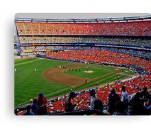 Shea Stadium - The Final Season Canvas Print